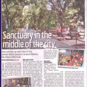 Sanctuary in the middle of the city - DNA