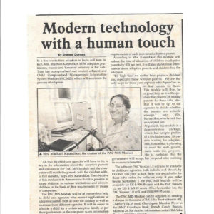 Modern technology with a human touch - Afternoon Despatch & Courier